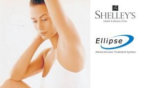 €35 instead of €70 for One session of Underarm Ellipse Permanent Hair Reduction at Shelley's Health and Beauty Clinic, Galway!!