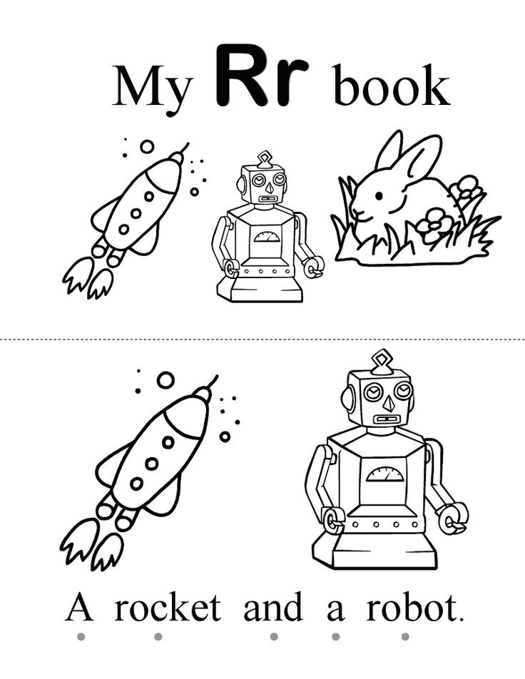 letter book Rr.pdf Book letters, Preschool letters