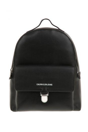 4ed409df4f CALVIN KLEIN JEANS - Γυναικεία τσάντα πλάτης SCULPTED CALVIN KLEIN JEANS  μαύρη