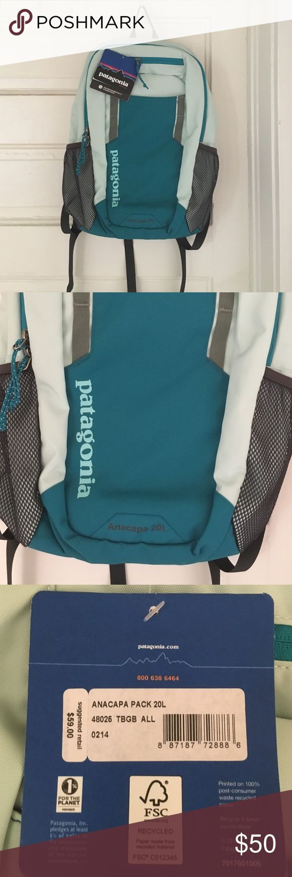 Patagonia backpack Patagonia backpack brand new with tags! Patagonia Bags Backpacks