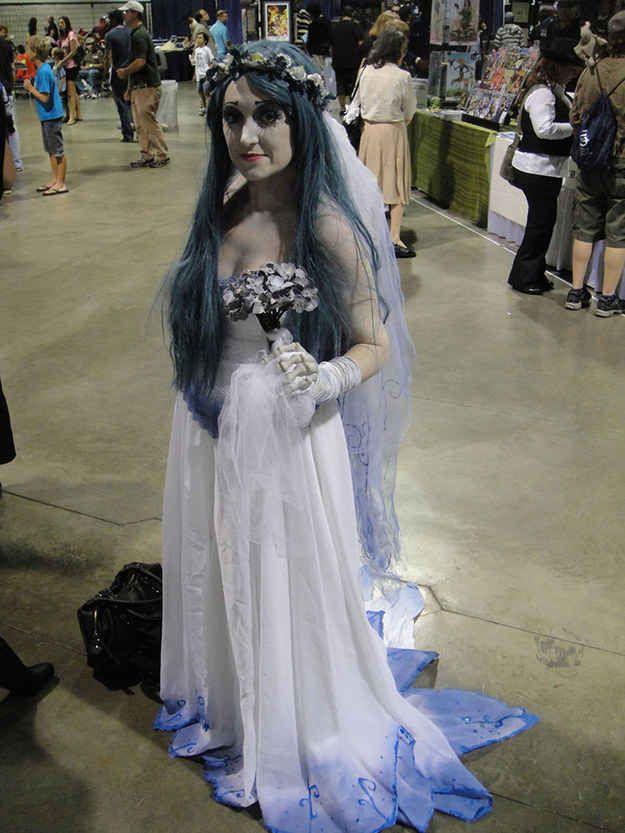 Corpse bride costume diy fashion 73