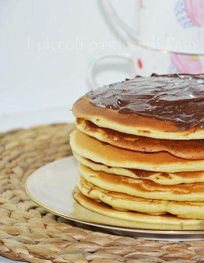 Pancakes alla nutella, ricetta dolce