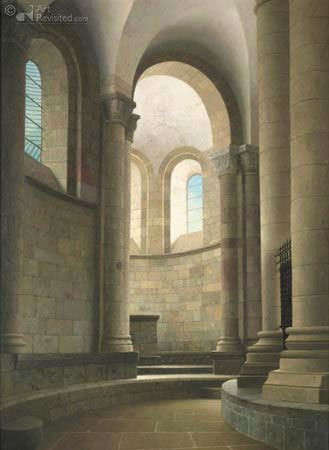 Henk Helmantel | realist painter | realism | Dutch painter | still life | architecture | church