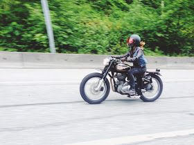 Riding my custom Royal Enfield. Motorcycle story in my blog Kaleidoscope Road. Women who ride.