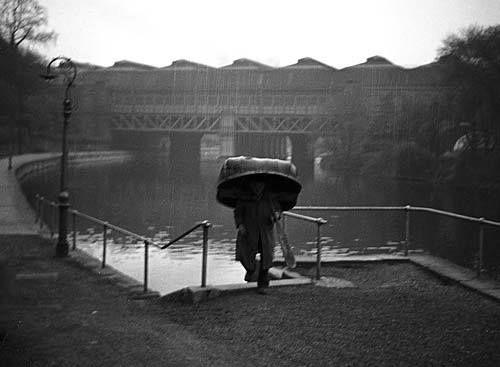 Coracle on the River Severn, Shrewsbury, Shropshire