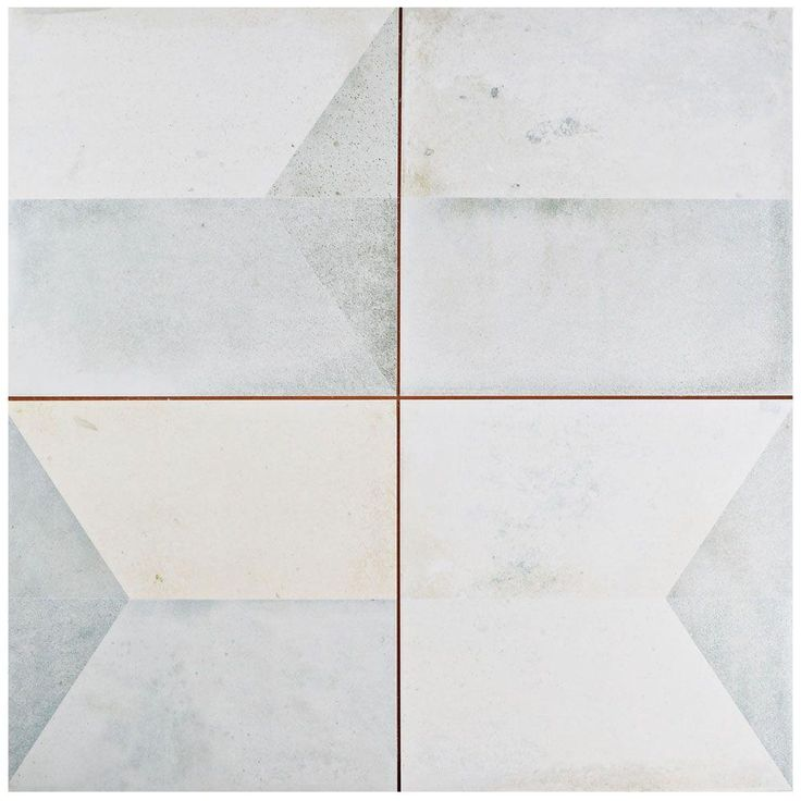 Merola Tile Geomento 17-5/8 in. x 17-5/8 in. Ceramic Floor and Wall Tile (11.1 sq. ft. / case)