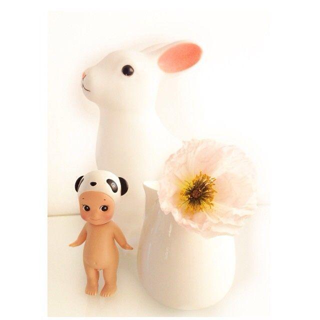 indiaKitty: Sonny Angel, bunny, poppies