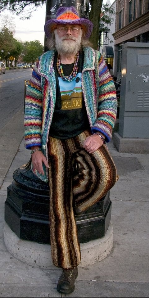 The knitted man of my dreams... ;)