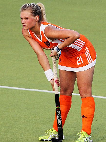 Sophie Polkamp - Dutch Olympic Filed Hockey player