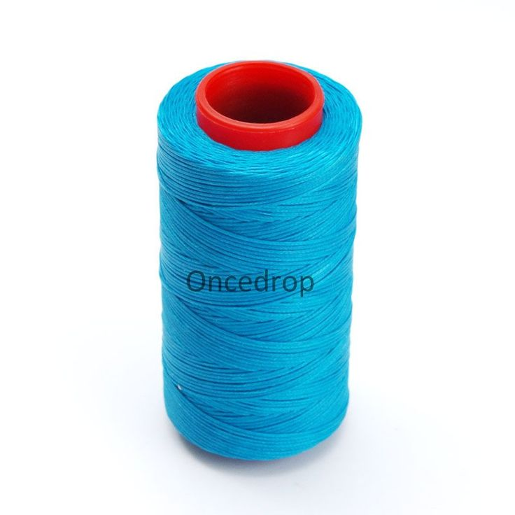 Peacock Blue 250 Meter 1mm Waxed Wax Thread Cord Sewing Craft for DIY Leather Hand Stitching 3