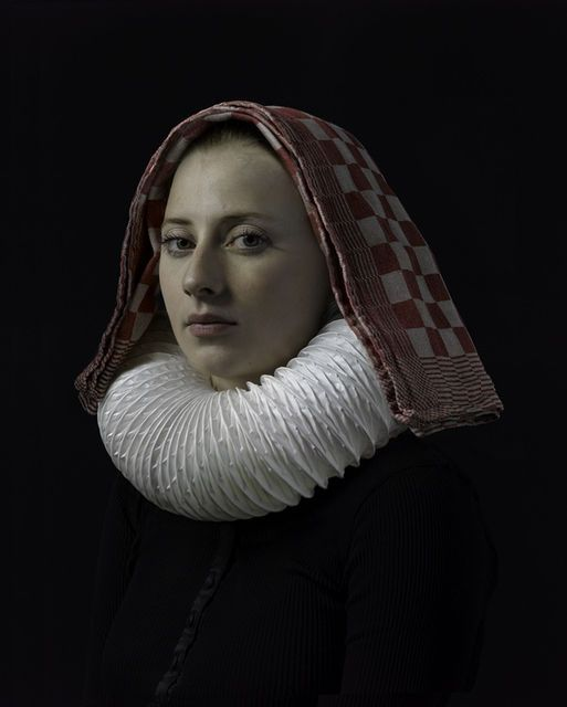 Hendrik Kerstens, Cosy (2012) This artist is recreating Old Master compositions with mundane, contemporary objects. Napkin and vent tube!