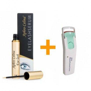 Aphro Celina + gratis Wimpernzange  ♥ Beliebtes, wirksames Wimpernwachstumsserum von Aphro Celina.