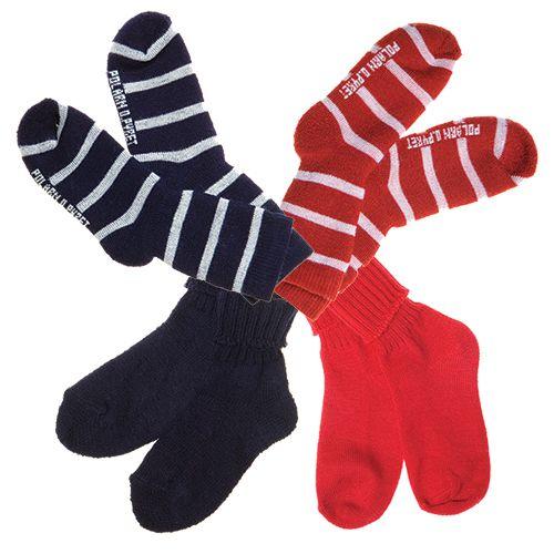 Lämpöiset villasukat useassa eri mallissa ja värissä, -30%.  Polarn O. Pyret, 3. KRS