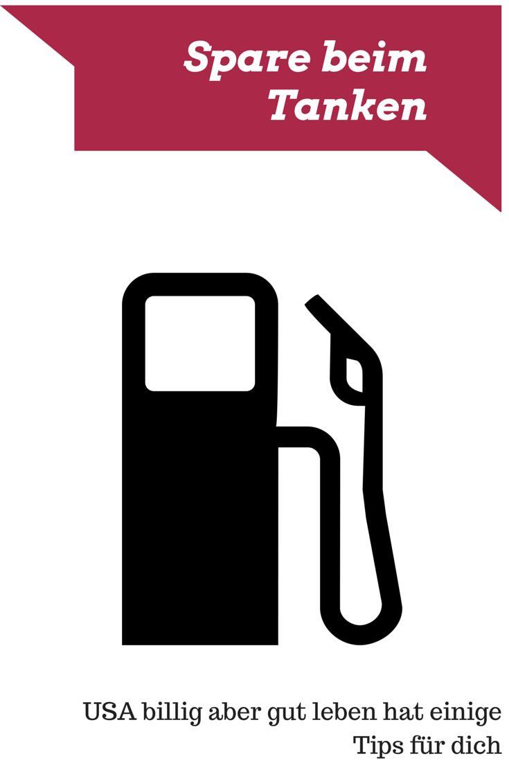 Sparen beim Tanken in Amerika - USA billig aber gut leben