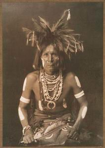Curtis, Edward S., 1868-1952. Hopi snake priest. Stephen A. Schwarzman Building / Photography Collection, Miriam and Ira D. Wallach Division of Art, Prints and Photographs. Digital ID: 433218