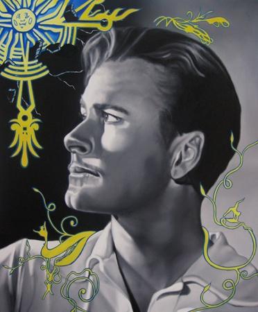 Jason Bryant Errol Worlds Away - 2013 Oil on Canvas  approx 51 x 61 cm