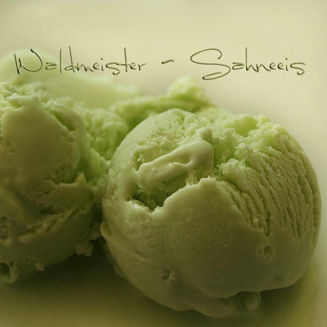 Waldmeister Eis - so fresh!