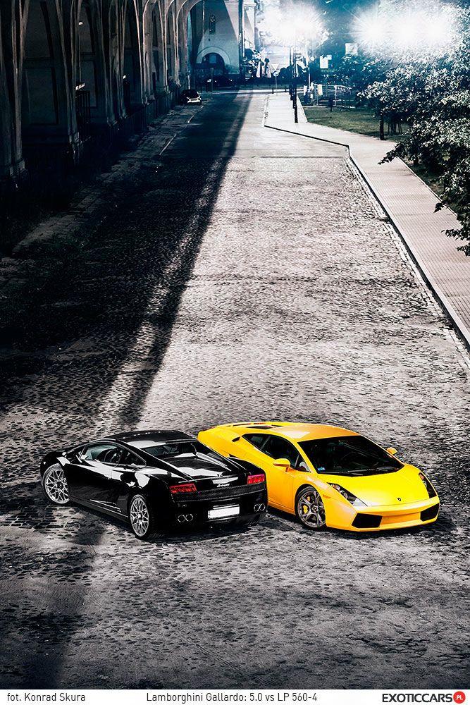 We just love to make comparison reviews - Lamborghini Gallardo 5.0 vs LP560-4: http://exoticcars.pl/testy/lamborghini-gallardo-5-0-vs-lp-560-4/