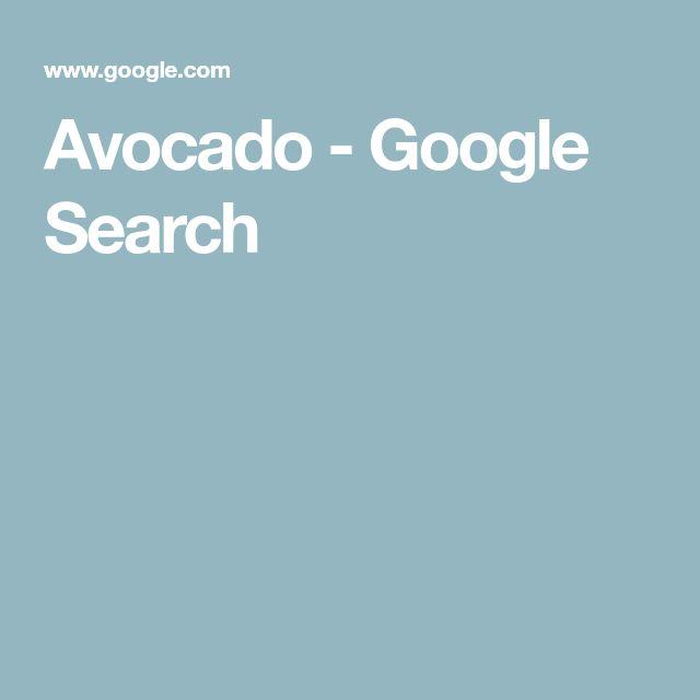 Avocado - Google Search