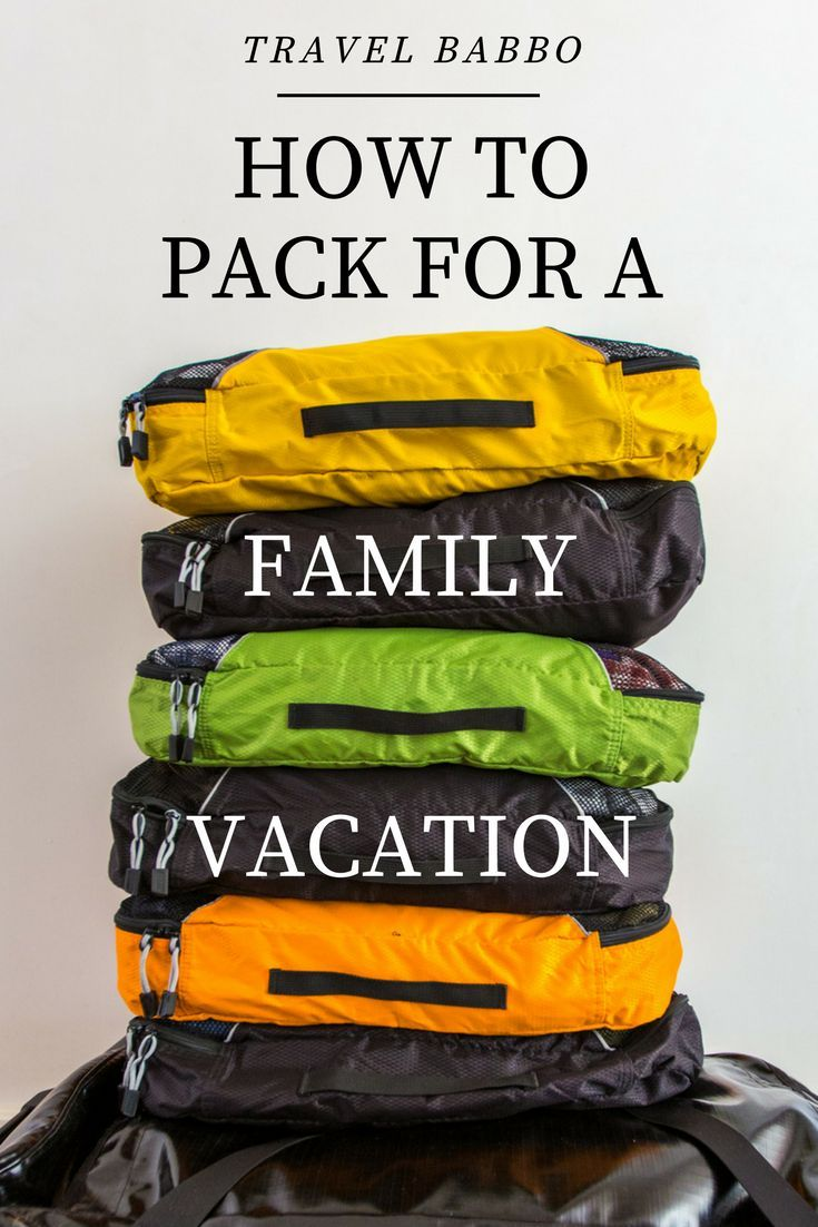 We have a family of five and travel often. We've become masters at how to pack for vacations. These are our tips.