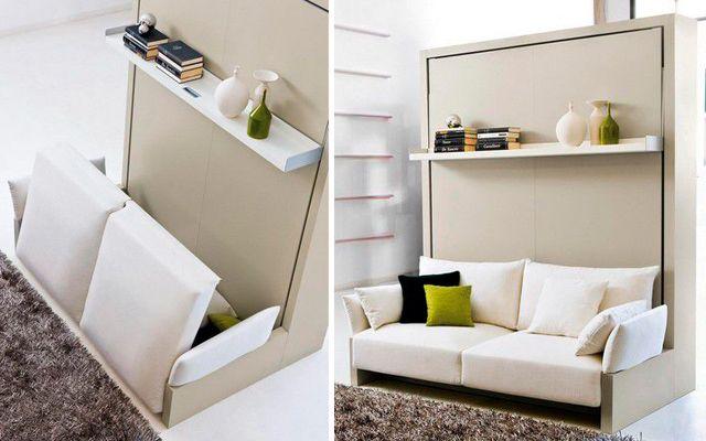 Mueble multifuncional para espacios peque os decofilia for Diseno de espacios pequenos