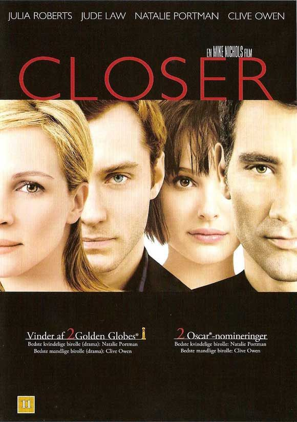 """CAST: Julia Roberts, Jude Law, Natalie Portman, Clive Owen; DIRECTED BY: Mike Nichols; PRODUCER: Cary Brokaw, John Calley, Mike Nichols; Features: - 11"""" x 17"""" - Packaged with care - ships in sturdy re"""
