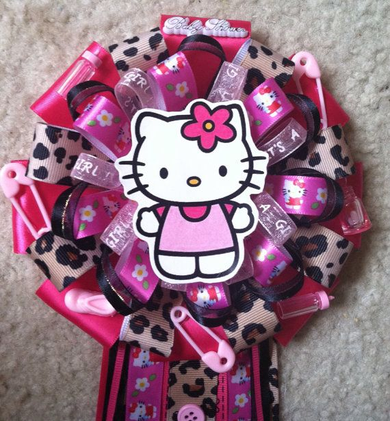 17 Best Images About Hello Kitty Baby Shower On Pinterest