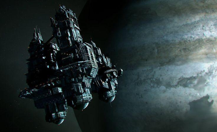 Alien Isolation Spacestation by emanshiu