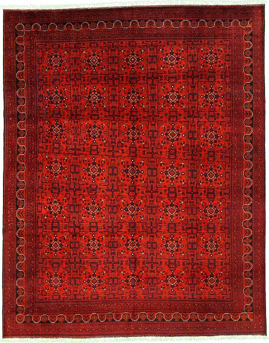Red Khal Mohammadi Area Rug