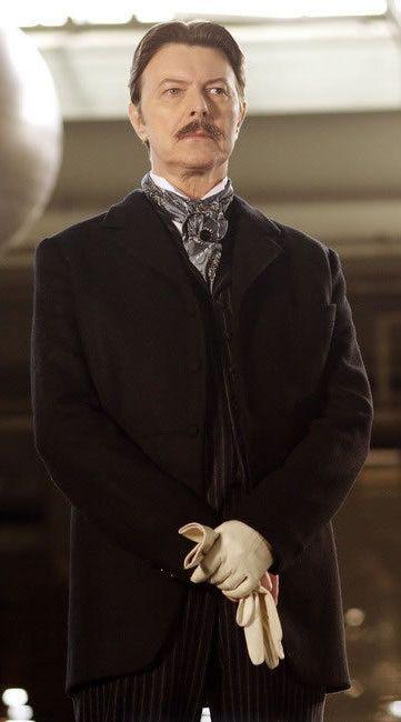 "David Bowie as Nikola Tesla in ""The Prestige"""