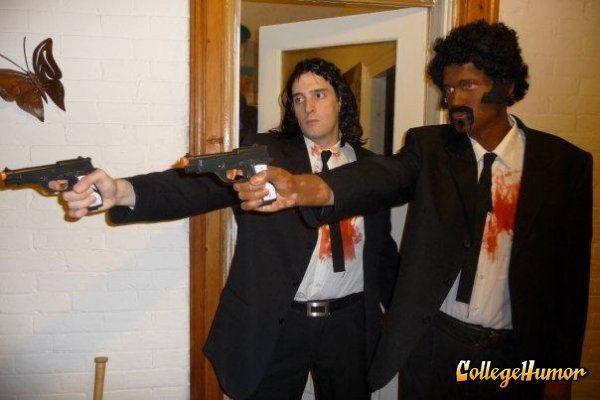 Disfraz de Vincent Vega y Jules de Pulp Fiction