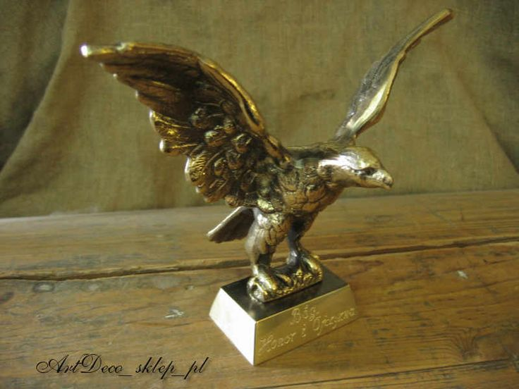 Eagle Aviation brass figurine Polish product
