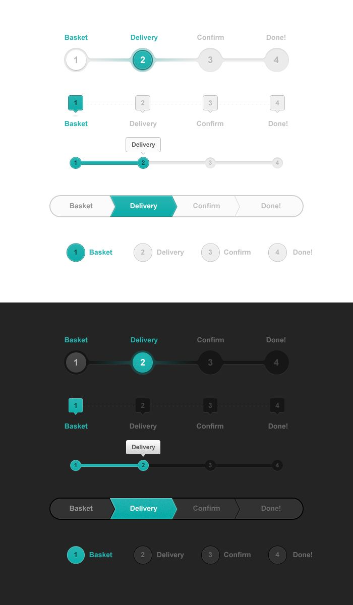 Progress_trackers_big webdesign UI