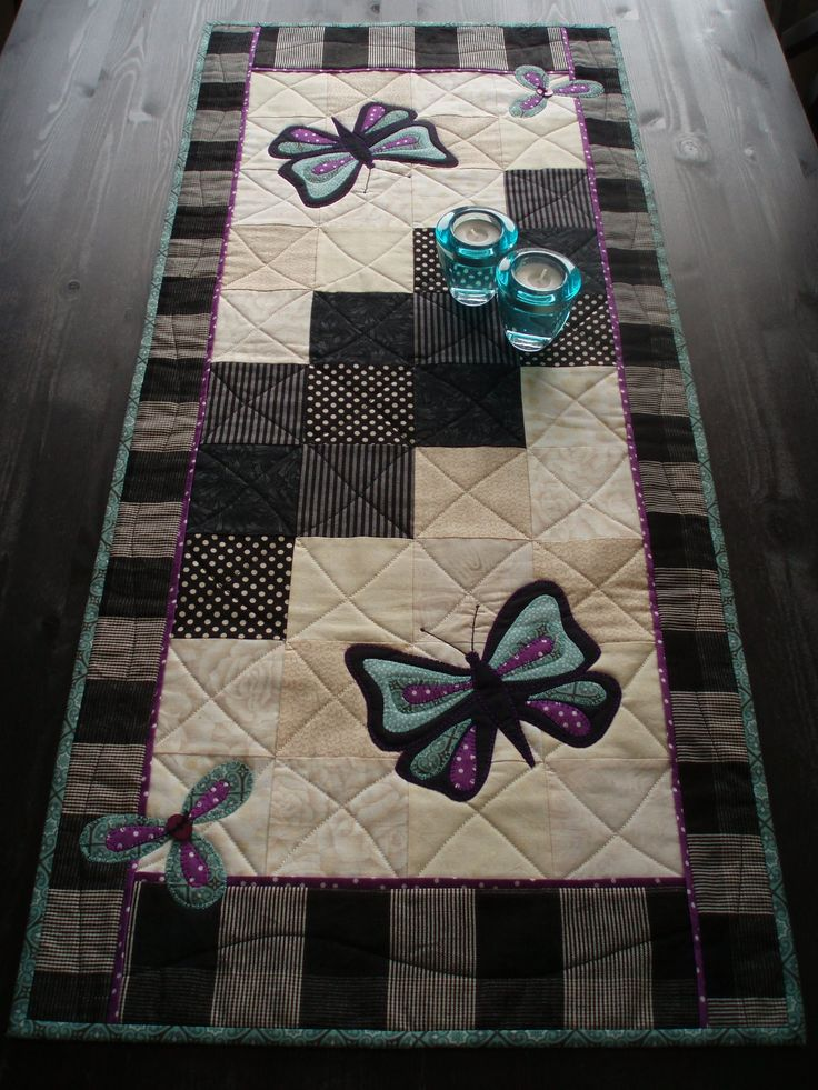 172 best images about patchwork table wall on pinterest for 10 minute table runner placemats