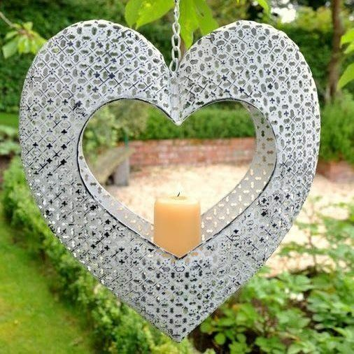 Rydal Hanging Heart Candle