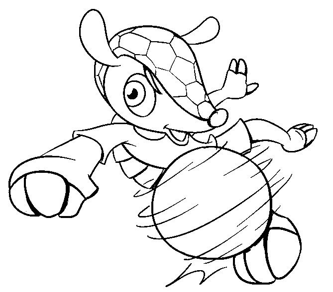 fifa 2014 coloring pages - photo#5