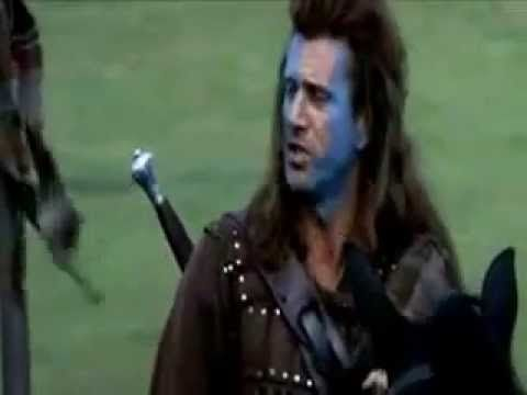 ▶ Braveheart Discurso antes del combate William Walace - YouTube