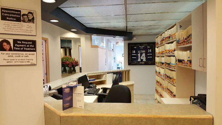 Altima Annex Dental Centre front desk