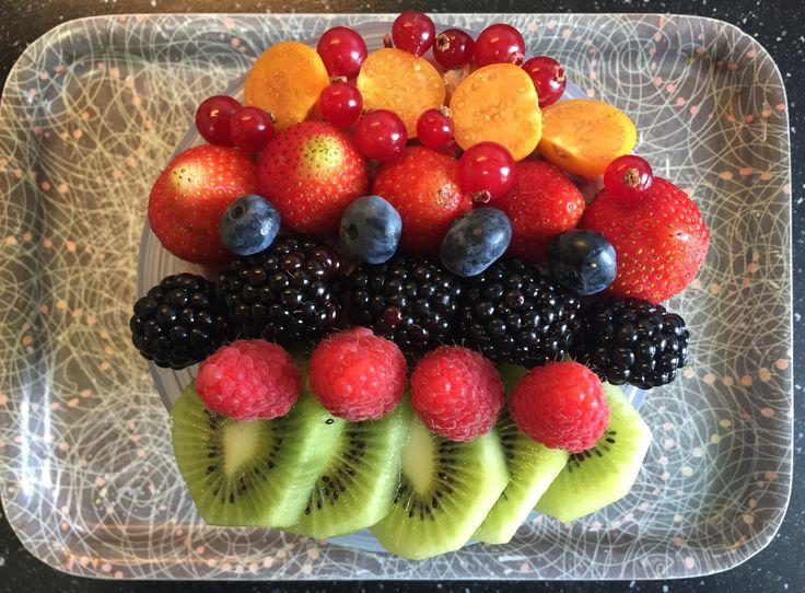 All-bran plus / chai / lijnzaad / hazelnoten / wortel / bietjes / fruit breakfast