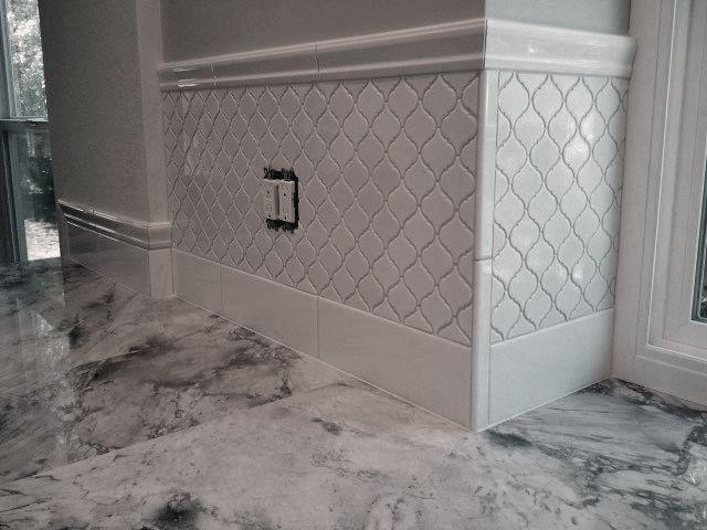 lantern tile backsplash kitchen back splash using cepac tile