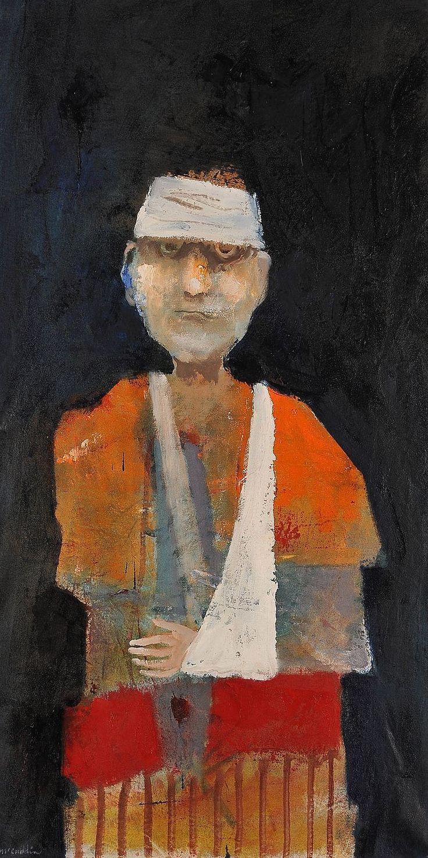 Mel McCuddin | Hard Night for a Tough Guy | The Art Spirit Gallery