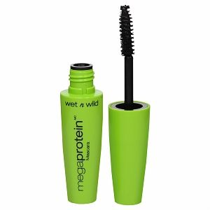 "This comes off easily with Pond's cold cream. No tugging...no extra ""eye makeup remover"" product to purchase. Inexpensive, too! Makes lashes look long and lean."