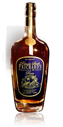 Prichard's rum is the best