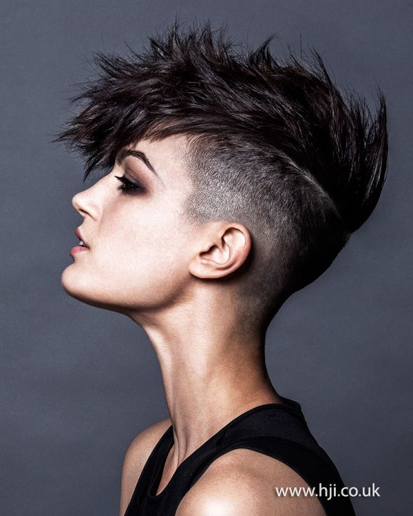 10 Short Hairstyles For Women Over 50. Undercut MohawkShort