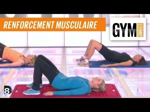 Cours gym : renfort musculaire 3 : Taille & fessiers - YouTube