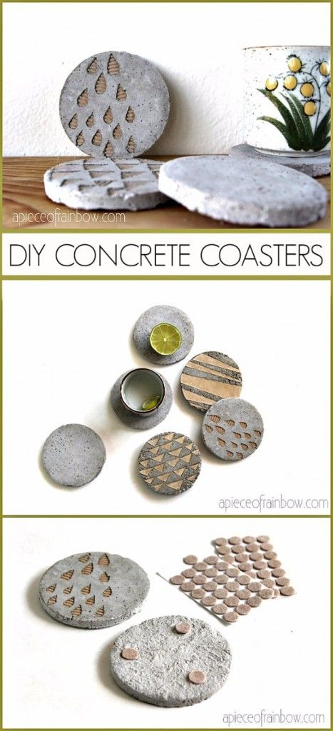 43 Creative Diy Ideas With Shoe Boxes: 17 Best Ideas About Concrete Crafts On Pinterest