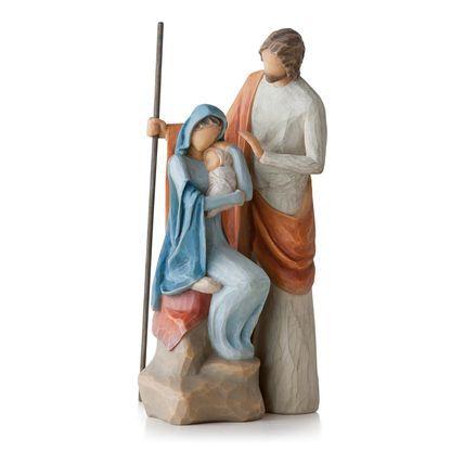Willow Tree® Holy Family Nativity Figurines Nativity Pinterest