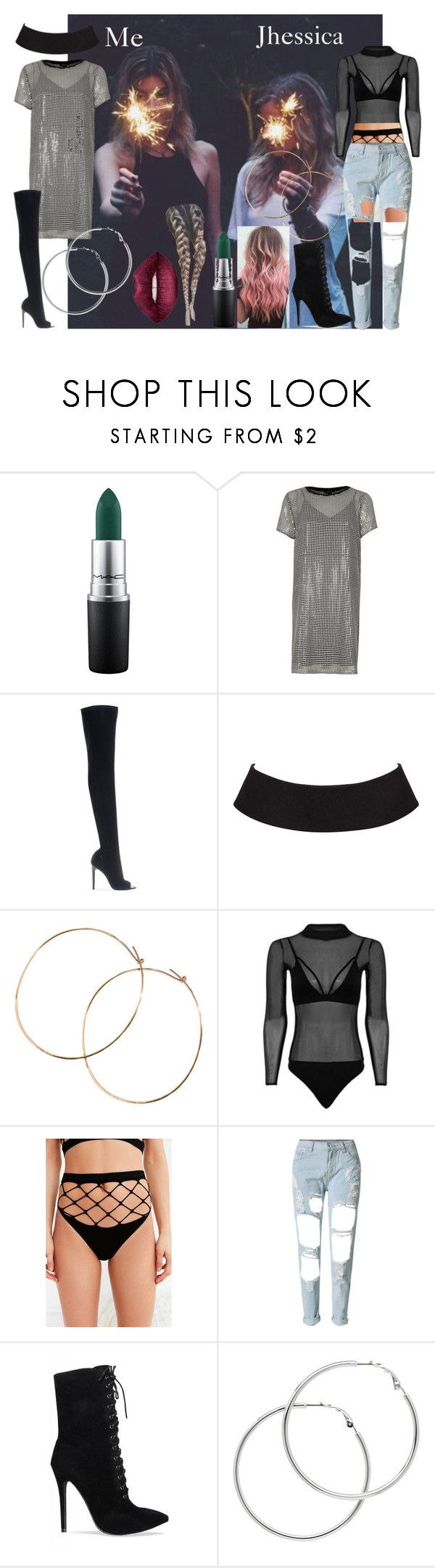 """My birthday party w/ Jhessica in New Orleans"" by wifeofniall17 ❤ liked on Polyvore featuring MAC Cosmetics, River Island, Gianvito Rossi, Jennifer Creel, Out From Under, WithChic, Melissa Odabash and Lime Crime"