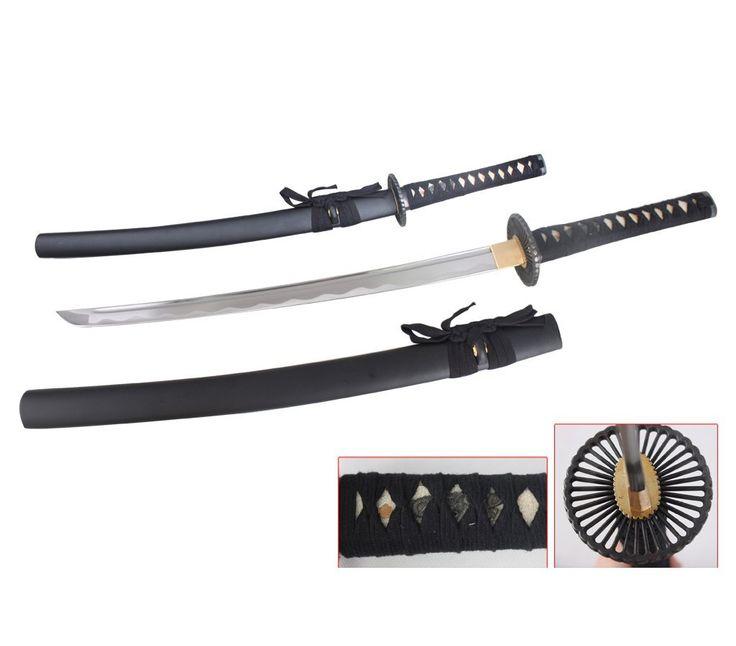 Amazon.com : Ace Martial Arts Supply Unsharpened Carbon Steel Wakizashi Iaito Practice Sword : Sports & Outdoors