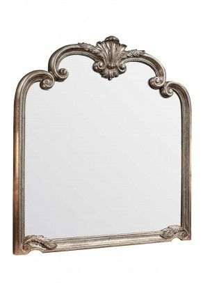 Give your fireplace a Downton Abbey feel with this stately designed over-mantle mirror! With free deliveries, free returns & free exchanges included!